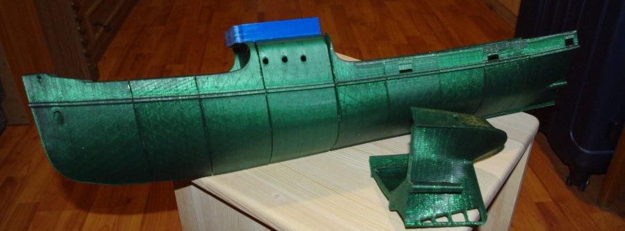 Hermes vontató építési napló